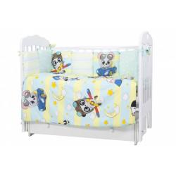 Комплект в кроватку Гонщики 6 предметов 608