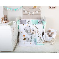Комплект в кроватку Мишки-Малышки 6 предметов 623