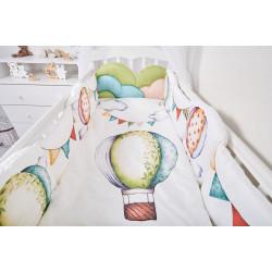Комплект в кроватку  Воздушные шары 6 предметов 691