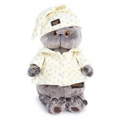 Ks19-024 Кот Басик в пижаме 19см