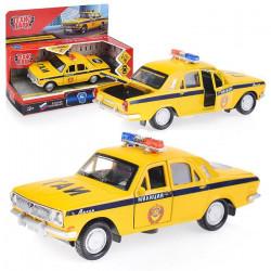 2401-12SLPOL-YE Машина металл ГАЗ-2401 Волга Полиция