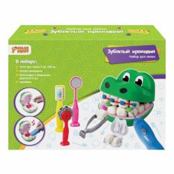 """70047 Набор для лепки """"Зубастый крокодил"""""""