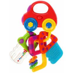 939550 Музыкальная игрушка Машинка с ключиками со светом и прорезывателями