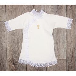 13-08 Крестильная рубашка 68,74р-р. хлопок