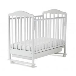 """Кровать детская """"Березка"""" с ящиком арт. 121111 белый"""