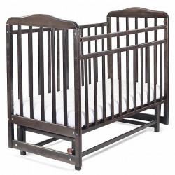 Кровать детская Митенька поперечный маятник без ящика 164008 венге