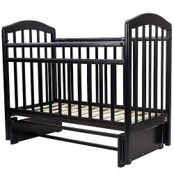 Кровать детская 120*60 ЛИРА 5 универ.маят/ящ.(венге)