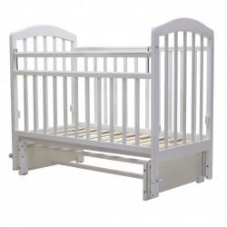 Кровать детская 120*60 ЛИРА 5 универ.маят/ящ.(слоновая кость)