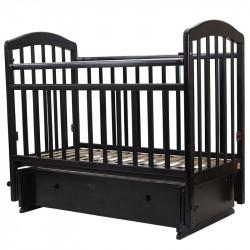 30 Кровать детская 120*60 ЛИРА 7 универ.маят/ящ.(венге)