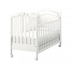 Кроватка MIBB Scintilla bianco арт. LI262BO, белая