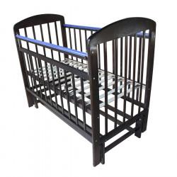 Кроватка детская Мой малыш 9 маятник продольный венге