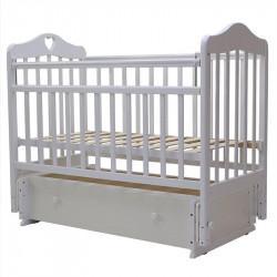 Кровать детская Топотушки Оливия 7 маятник универсальный ящик белая