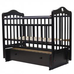 Кровать детская Топотушки Оливия 7 универсальный маятник/ящик венге