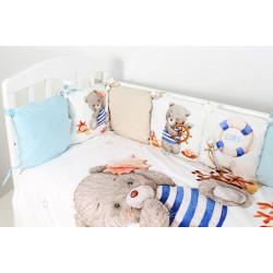 Комплект в кроватку Морской круиз 6 предметов 685