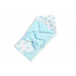 Одеяло на выписку вельбоа (8 пред.трикотажем)