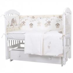 Комплект в кроватку Птички 6 предметов 610
