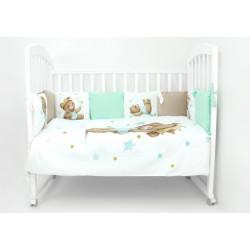 Комплект в кроватку Маленький принц  6 предметов перкаль/поплин  628