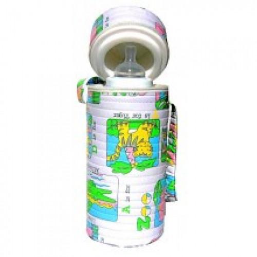 Термоблок для одной бутылочки с пластиковой вставкой