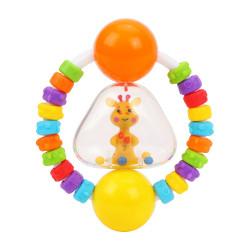 Погремушка-прорезыватель Радужный Жирафик