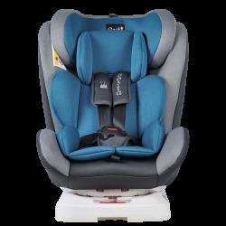 Автокресло YB104A (синий/серый)