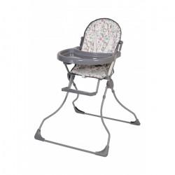Стульчик для кормления Polini Kids 152 Единорог Hello Baby (Серый)