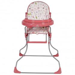 Стульчик для кормления Polini Kids 152 Лесные Друзья (Розовый)