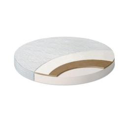 Матрас круг (75х75х10 bamboo/холлкон/кокос)