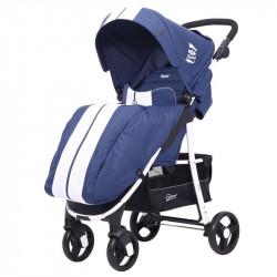 Коляска прогулочная Rant Kira Mobile blue