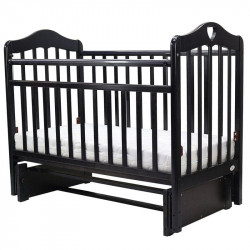 Кроватка детская Топотушки Оливия 5 с сердечком маятник универсальный венге