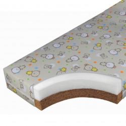 Матрац детский ЭКО-Лайн Ультра 119х60х12 см бязь