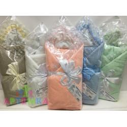 Одеяло на выписку 7 предметов (велсофт)