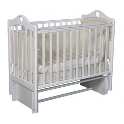 """Кровать детская """"Каролина"""" (3/5) автопуск-кнопка,  маятник универсальный,  белый"""