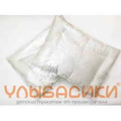 Подушка холофайбер 40х60 (бязь отбеленная)