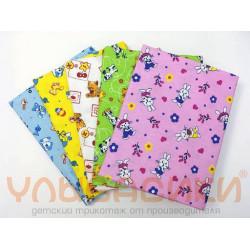 Фланелевые пеленки 90х120 (девочка/мальчик)